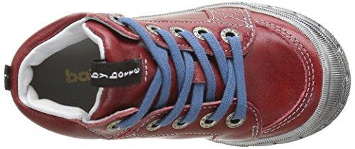 babybotte Alpinist - Zapatillas altas para niños Rojo - Rouge (116 Rouge)