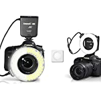 Aputure Amaran Halo AHL-HC100 CRI 95+ LED Macro Ring Flash Light for Canon DSLR Camera