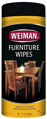 Weiman Furniture Wipes 2Pack(60 wips total)