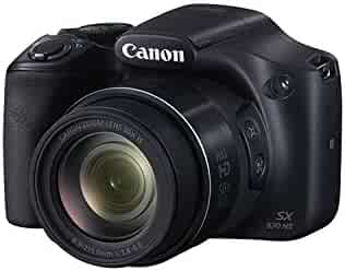 Canon PowerShot Digital Camera [SX530] with 50x Optical Zoom, Built-in Wi-Fi and NFC - Black
