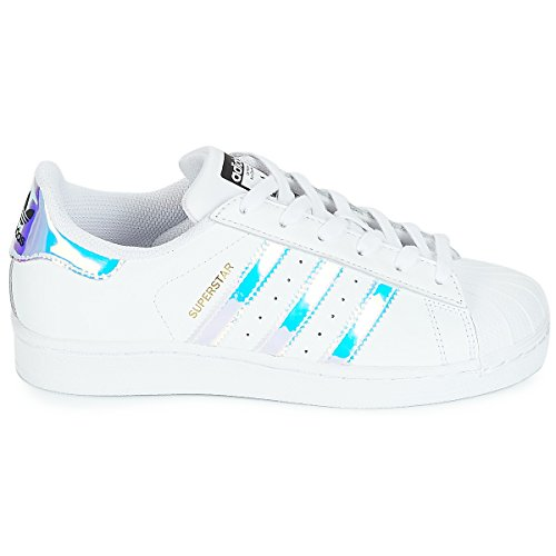 Kinder J Superstar Top adidas Weiß Low Unisex 5AnxFFUp