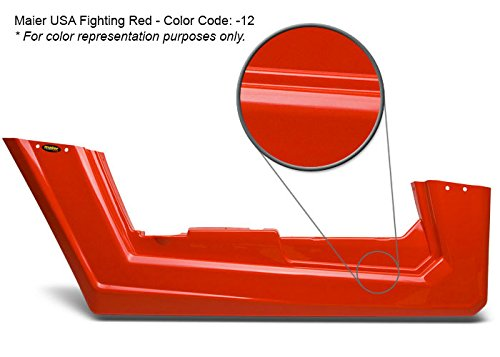 Maier USA 11720-12 Honda TRX250R Front Fender - Fighting Red by Maier USA (Image #3)