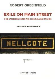 Exile on main street : Une saison en enfer avec les Rolling Stones par Robert Greenfield