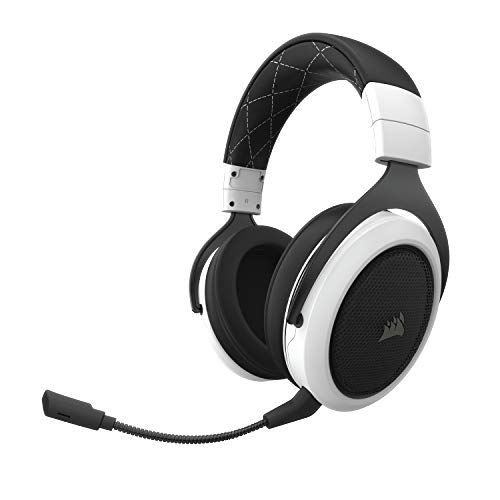 CORSAIR HS70 Wireless Gaming Headset - 7.1 Surround Sound Headphones for PC - Discord Certified - 50mm Drivers - Carbon