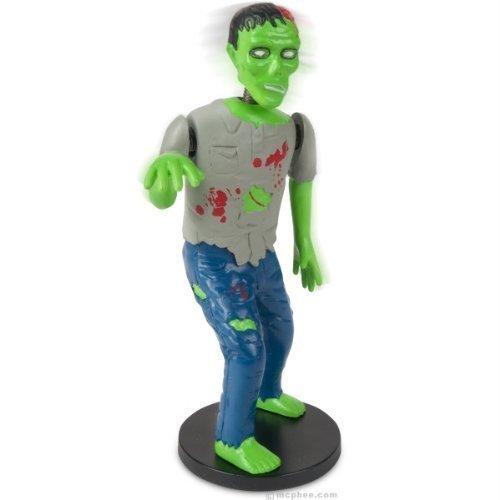 Dashboard Zombie Bobblehead Walking Dead Goth Horror Brain Eating Novelty Gift by Dysfunctional Doll