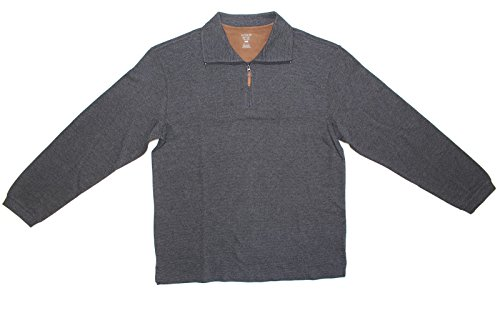 Zip Ribbed Pullover - 4