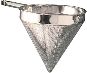 "American Metalcraft (CC12F) 12"" Fine Mesh Stainless Steel China Cap"