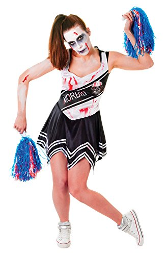 Ladies Zombie Cheerleader Costume