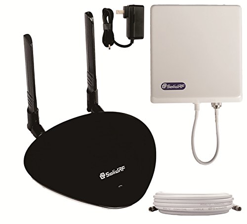 SolidRF SOHOMax 2xAntennas Tri-Band Verizon 4G/LTE Cell Phone Booster For All Carriers 2G/3G and Verizon 4G LTE, 700(Band13)/850/1900 MHz ¡­