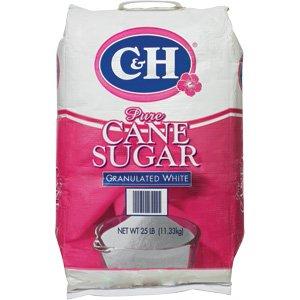 C&h Granulated Sugar 25 Lbs