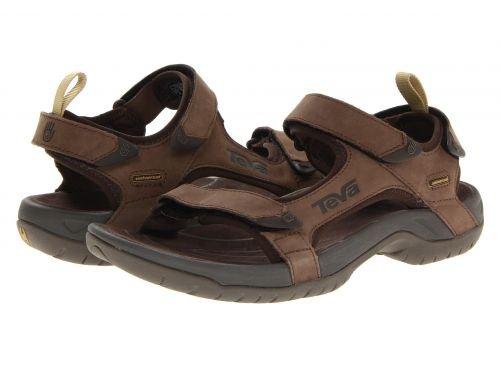 f4e4e362e Teva M Tanza Men s Leather Sandals