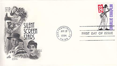 Charlie Chaplin Silent Screen Star ArtCraft First Day Cover Cachet FDC 2821