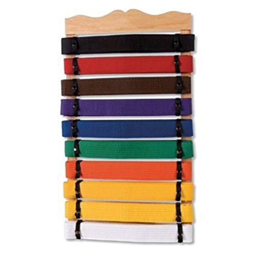 martial arts belt display twelve - 1