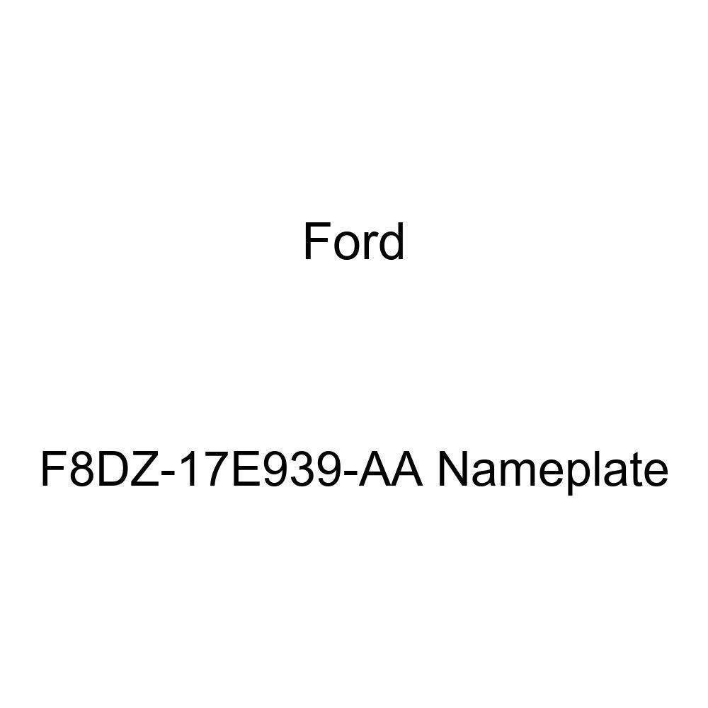Genuine Ford F8DZ-17E939-AA Nameplate