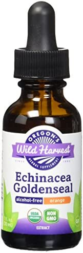 Oregon's Wild Harvest Organic Echinacea Goldenseal-Orange Extract