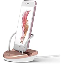 WINSTION iPhone Stand Charging Dock Desk Station Holder Easy Desktop Charging Station for iPhone X/5/6/6s/7/8 - Plus