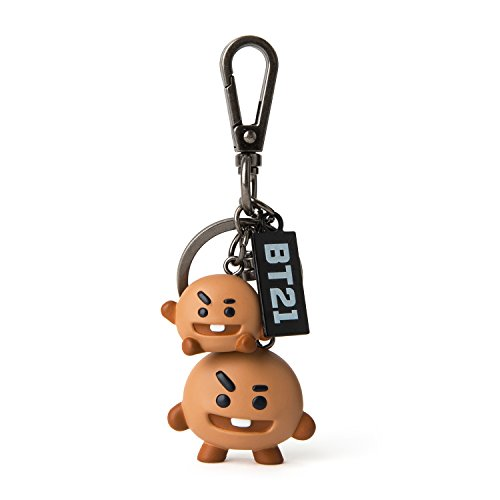 BT21 Official Merchandise by Line Friends - SHOOKIE Keychain Ring ()