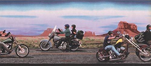 (Wallpaper Border - Black Rider Prepasted Wall Border)