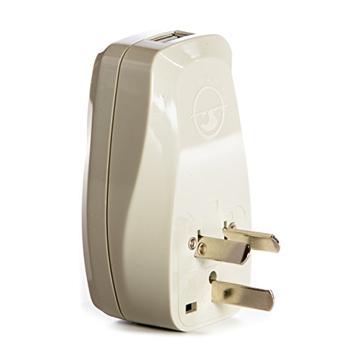 OREI 3 in 1 Australia Travel Adapter Plug with USB and Surge