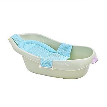 AIBAB Bebé Bañera Recién Nacido Asiento De Baño Puede Sentarse Y ...