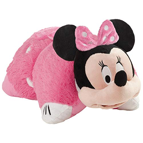 (Pillow Pets Pink Minnie Mouse - Disney Stuffed Animal Plush)