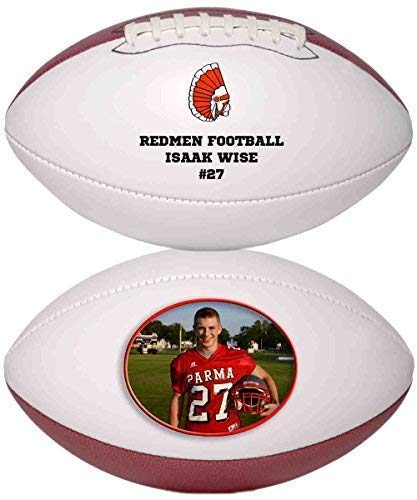 Personalized Custom Photo Regulation Football - Any Image - Any Text - Any Logo by Personalized Sports Balls (Image #3)