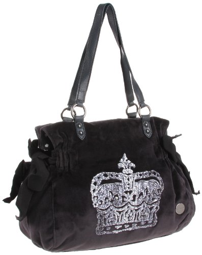 Juicy Couture Vintage Crown Velour Ms. Daydreamer Bag, Bags Central
