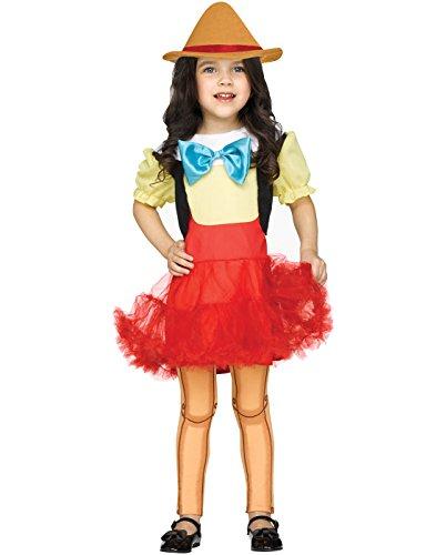 Pinocchio Girl Doll Toddler Costume (Pinocchio Costume Baby)