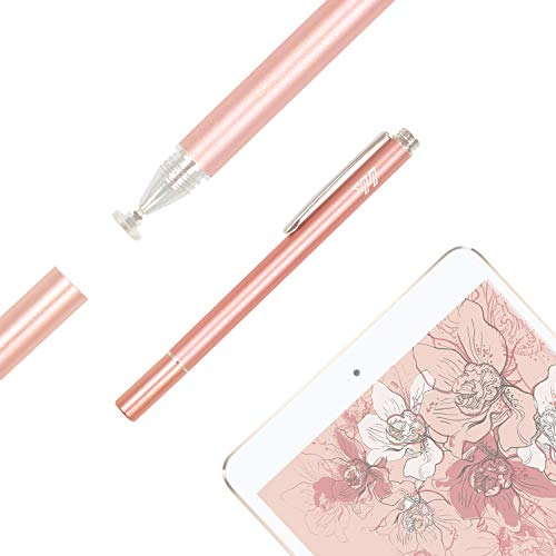 Stylus Pens for Touch Screens, iPhone iPad Pen Stylus, YH-DIMENSION, Precision Disc Stylus Fine Point, Universal Stylus for iPad iPhone Galaxy S8 Note Kindle Android Tablet Laptop NOT for Surface by YH-DIMENSION