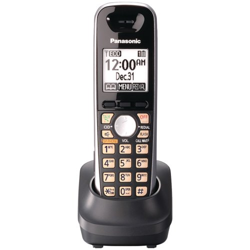 Panasonic KX-TGA651B Extra Cordless Handset, Black (Discontinued By Manufacturer) by Panasonic