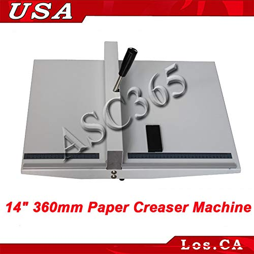 INTBUYING 14 360mm Manual Desktop Prof Paper Scoring Creasing//Creaser Pocket Folding Machine
