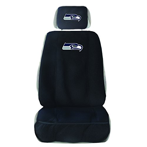 monogram headrest covers - 1
