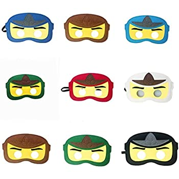 Amazon.com: Kool KiDz 10 Ninja Masks for Birthdays ...