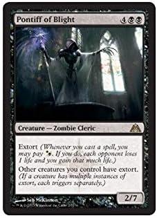 Pontiff of Blight ~ Dragon/'s Maze Excellent+ Magic MTG