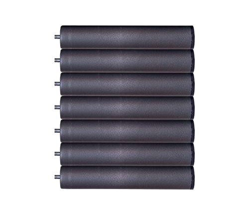 Bonitex-Somier multiláminas con REGULADORES LUMBARES + 7 patas. 150x200cm, FIRMEZA ADAPTABLE, TUBO 40x30MM y LÁMINAS de HAYA natural antideslizantes: ...