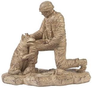 Solid Rock Stoneworks Kneeling Soldier