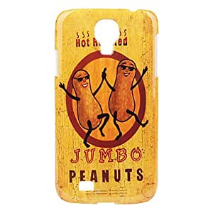 Peanut Pattern Hard Case for Samsung Galaxy S4 I9500