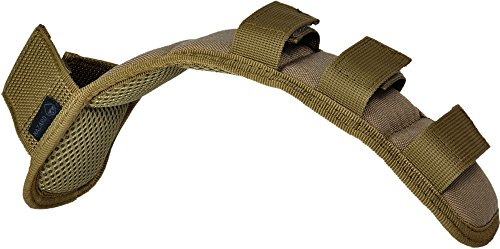 - Hazard 4 (ACS-SPAD-CYT) Deluxe Shoulder Strap Pad with Molle Top, Coyote