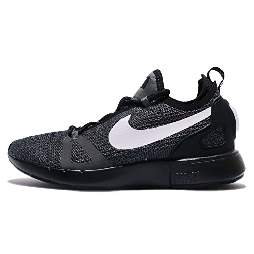 NIKE Duel Racer Women's Running Training Shoes Black-White-Dark Grey (8.5 B(M) US)