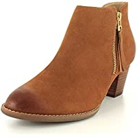 Vionic Women's Upright Sterling Ankle Boot (Saddle, 9.5 W) Noticeable Review Image