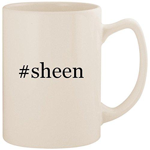#sheen - White Hashtag 14oz Ceramic Statesman Coffee Mug Cup