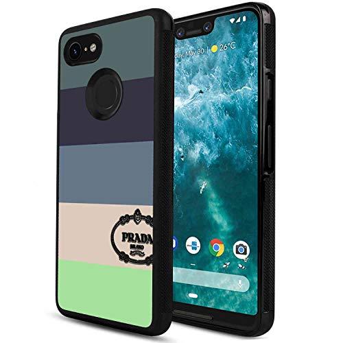 DISNEY COLLECTION Cell Phone Case Compatible with Google Pixel 3 XL [6.3-Inch] 929 Disney Fashion Logo Milan New York Prada Supreme