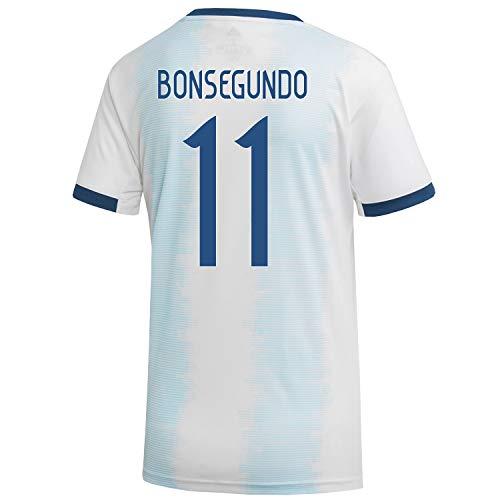BONSEGUNDO #11 Argentina Home Women's World Cup Soccer Jersey 2019/20 (XL) White ()