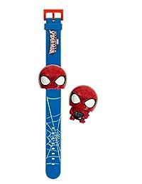 BulbBotz Marvel 2021159 Spider Man Kids Light Up Watch | red/blue | plastic | digital | LCD display| boy girl | official