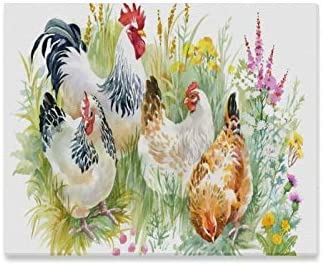 Home Living Room Wall Art Decor chickens Oil Painting Printed On Canvas
