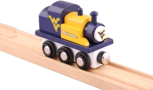 NCAA West Virginia Mountaineers College Team Train Toy