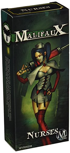 Wyrd Miniatures Malifaux Resurrectionists Nurse Model Kit