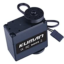 High Torque Digital Servo, Kuman 17KG Metal Gear Robot Servo Motor with 270 Degree Rotating for RC Robot Helicopter Airplane Boat KY72