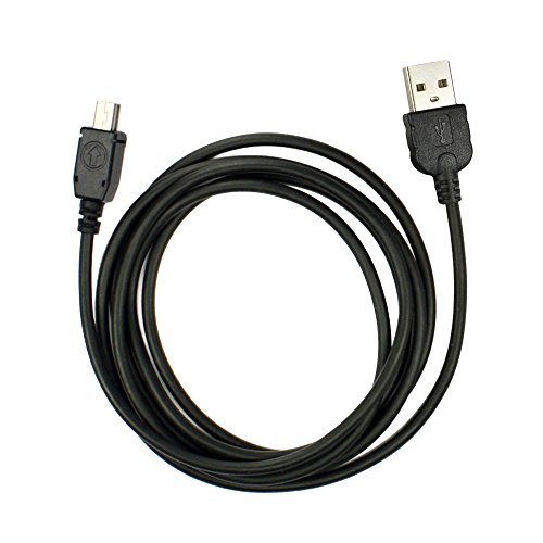 Fenzer Black USB Data Sync Charger Cable for HTC Elf Fuze Google Android G1 G2 Magic Herman Hero Imagio Love Magic Maple MDA Vario Mogul mytouch 3G ()