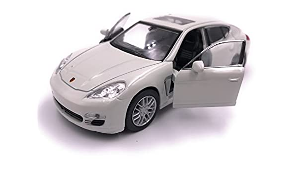H-Customs Welly Coche modelo Porsche Panamera S Auto PRODUCTO LICENCIADO 1: 34-1: 39 Blanco: Amazon.es: Coche y moto